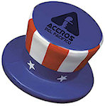 Uncle Sam Hat Stress Balls